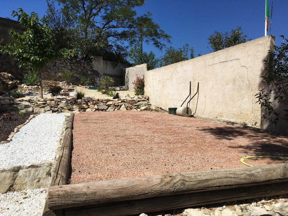 sable pour terrain de pétanque